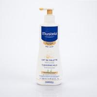 MUSTELA Bébé Lait de Toilette Visage et Siège au Cold Cream 500 ml