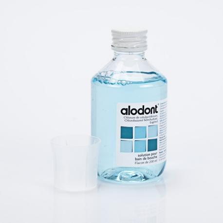 ALODONT Bain de Bouche 200 ml (Chlorure de cétylpyridinium, Chlorobutanol, Eugénol)