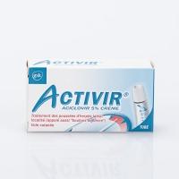 ACTIVIR Crème 2g (Aciclovir 5%)