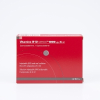 VITAMINE B12 Gerda 1000µg/ml (Cyanocobalamine)