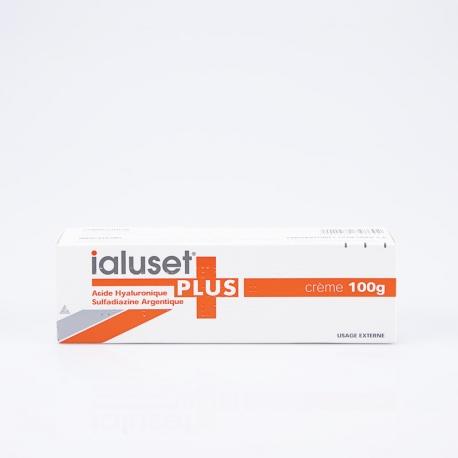 IALUSET PLUS crème ( acide hayluronique,sulfadiazine argentique) 100g
