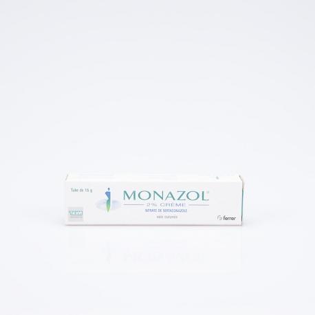 MONAZOL 2% crème (Nitrate de sertaconazole)