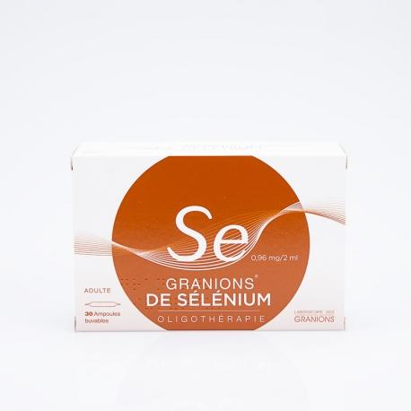 GRANIONS De Sélénium (Sélénium)