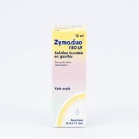 ZYMADUO 150 UI (Fluorure de sodiun,Cholécalciférol)