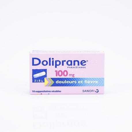 DOLIPRANE 100mg suppositoire (Paracétamol)