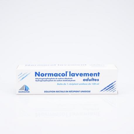 NORMACOL Lavement Adulte (Dihydrogénophosphate et Hydrogénophosphate de sodium)