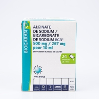 ALGINATE /BICARBONATE DE SODIUM Biog (Alginate/Bicarbonate de sodium)