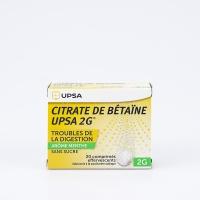 CITRATE DE BETAINE UPSA 2g menthe (Citrate de Bétaïne)