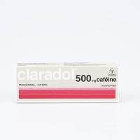 CLARADOL 500 mg Caféine (Paracétamol,Caféine)
