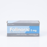 FOLINORAL 5mg 28 gél (Folinate de calcium)