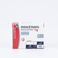 PARACETAMOL 1000mg BGR bte 8 cp (Paracétamol)