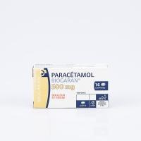 PARACETAMOL 500mg BGR bte 16cp (Paracétamol)