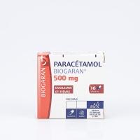 PARACETAMOL 500mg BGR bte 16 gél (Paracétamol)