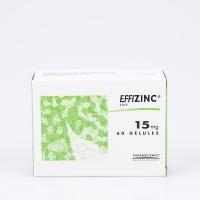 EFFIZINC 15mg 60 gélules (Zinc)